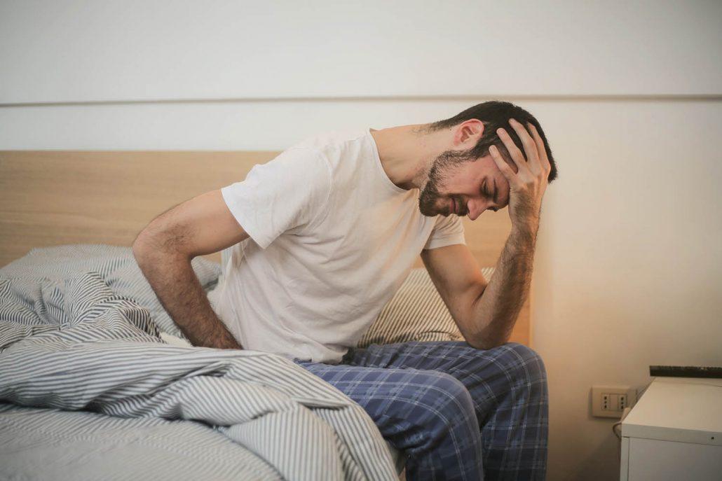 bolest na hrudi a stres